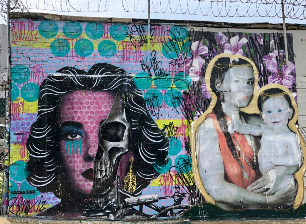 Discovering Street Art in Queens with the Welling Court Mural Project!