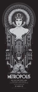 Affiche Originale du film Metropolis de Fritz Lang