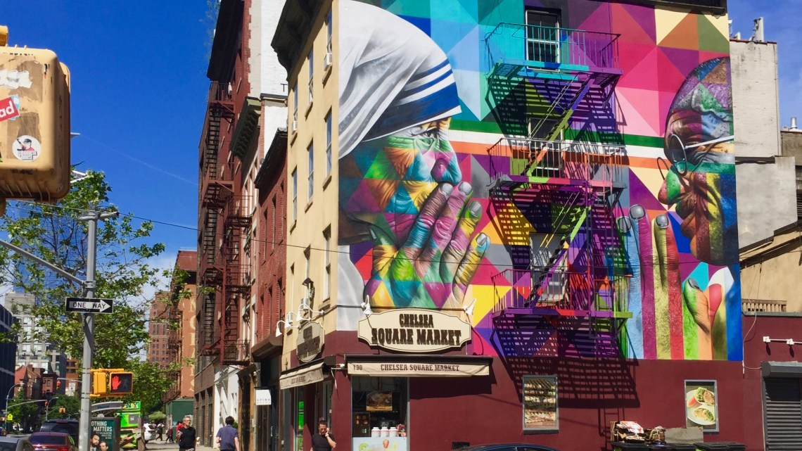 Eduardo Kobra & New York's Street Art: A true love story that begins with a simple kiss!