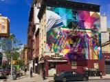 Fresque murale représentant Mere Teresa & Indira Gandhi - Eduardo Kobra - Street Art Blog - New York
