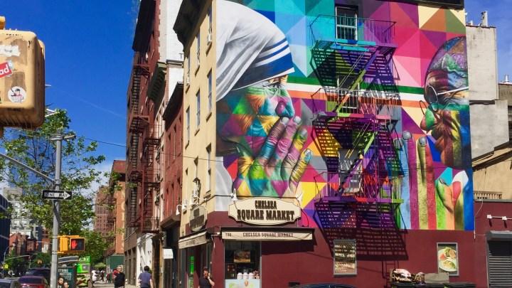 Eduardo Kobra et le Street Art New-Yorkais, une histoire d'amour qui commence par un simple baiser
