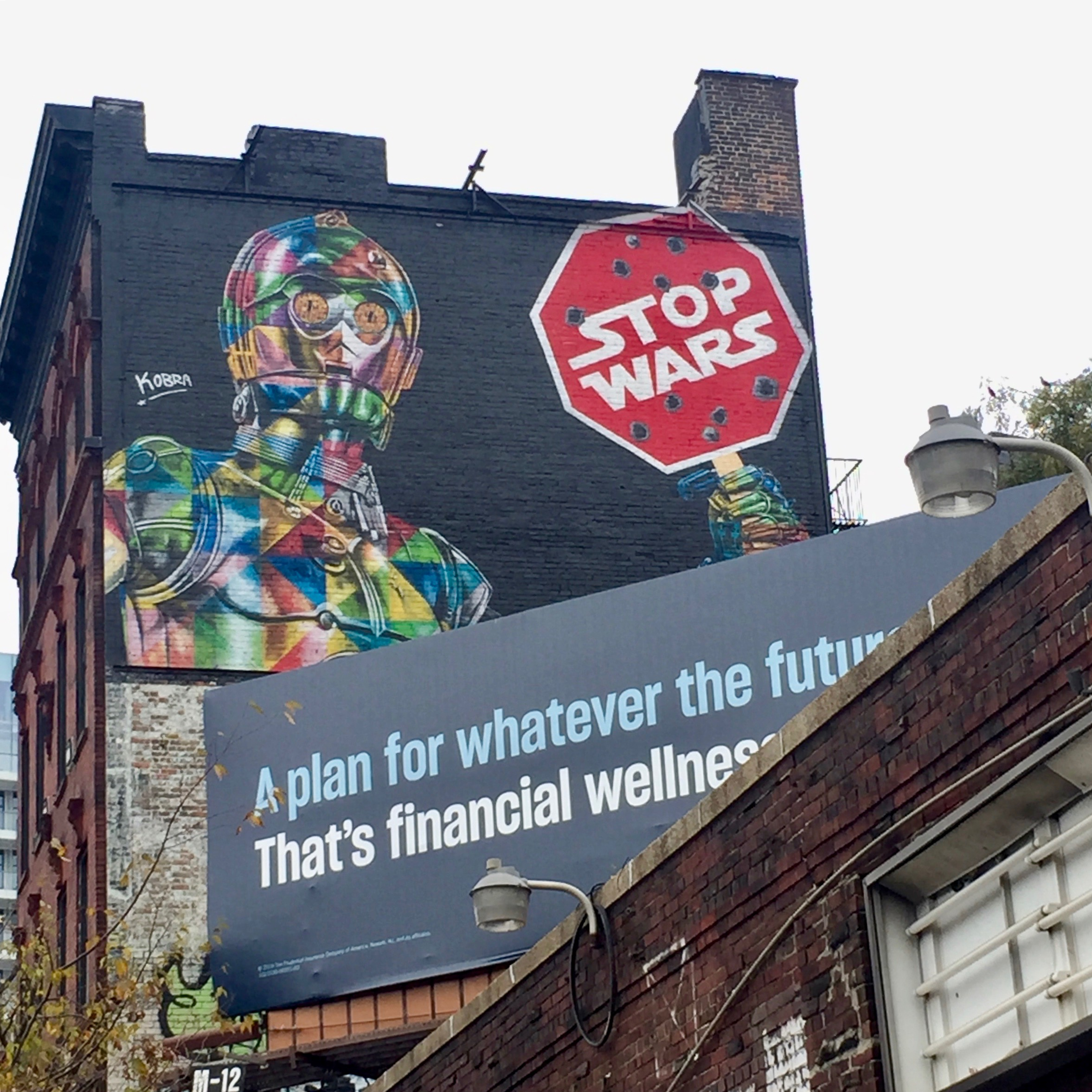Fresque murale Stop War - Eduardo Kobra - New York - Street Art - Copyright: @Altinnov