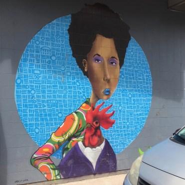 Street Art à Vitry-sur-Seine - Oeuvre de Breeze Yoko