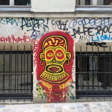 Graffitis & Tags dans le Marais à Paris