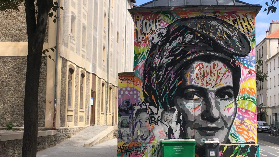 Le Street Art Canal de l'Ourcq à Paris vaut le détour !