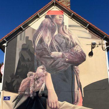 Gardien de Crécerelle par Telmomiel - Street Art Boulogne sur mer