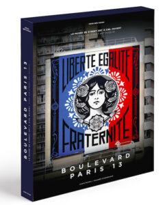 Coffret publié aux editions Albin Michel sur l'aventure Boulevard Paris 13 - Musée du Street Art à Ciel ouvert
