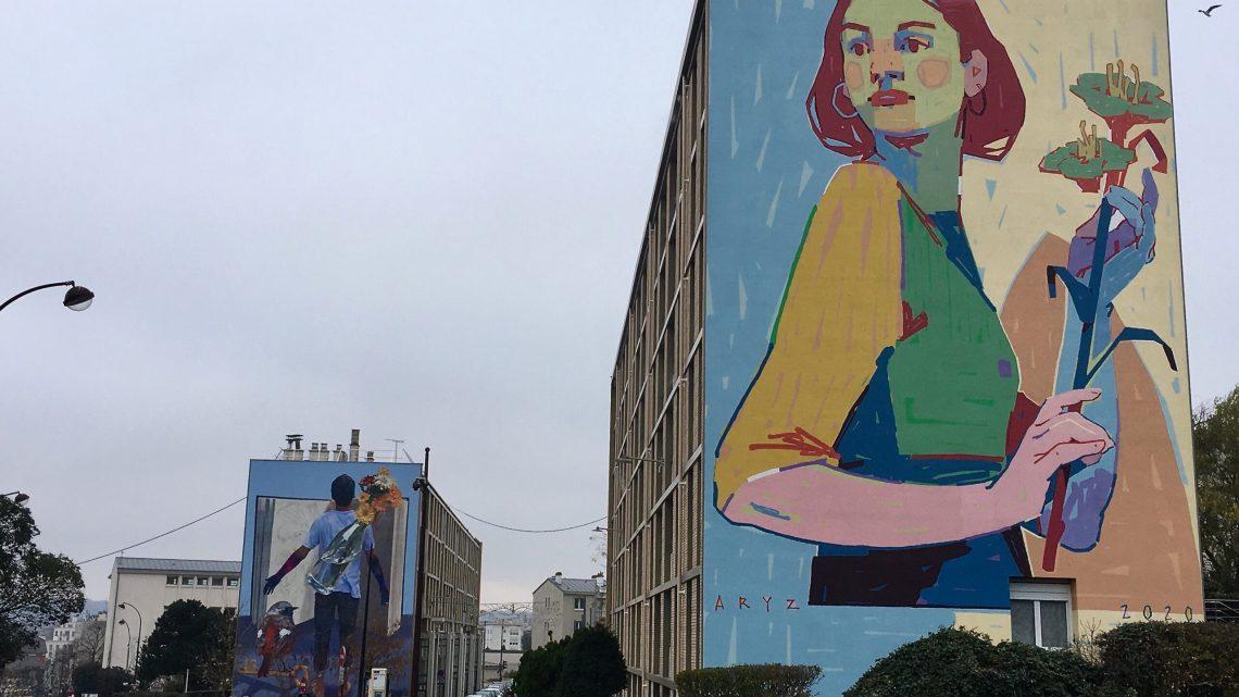 Quand le Street Art s'invite à Versailles; c'est royalement poétique !