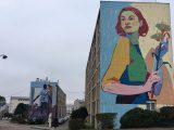 Couverture article Street Art avec Fresque Murale de Aryz et Jade Rivera pour Quai 36 à Versailles