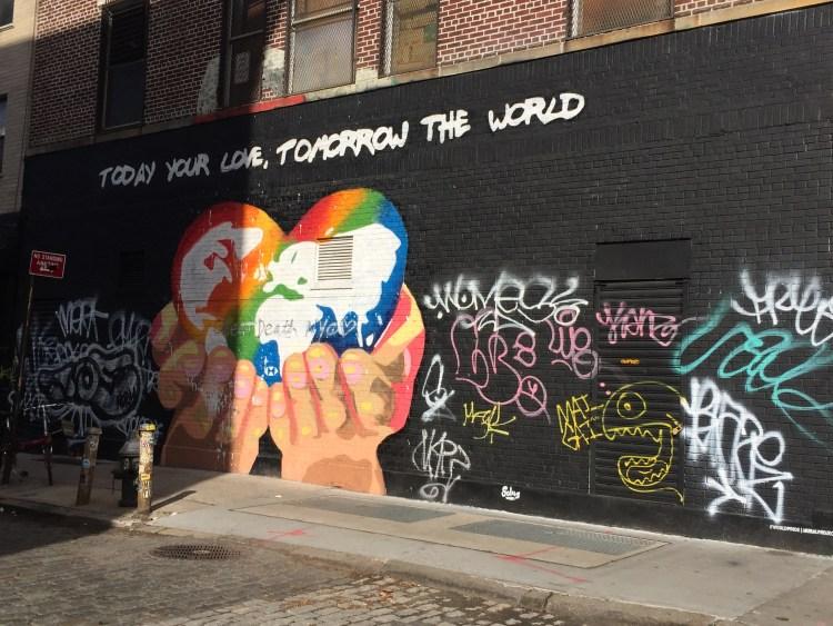 NYC Pride - World Pride - Street Art by SOLUS NYC
