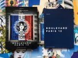 Livre Boulevard Paris 13 édité par Albin Michel et écrit par Mehdi Ben Cheikh - Galerie itinerrance
