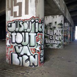 Street Art engagé à Aubervilliers : jusqu'ici tout va bien - Jon Buzz - Projet 451 - Photo @Altinnov