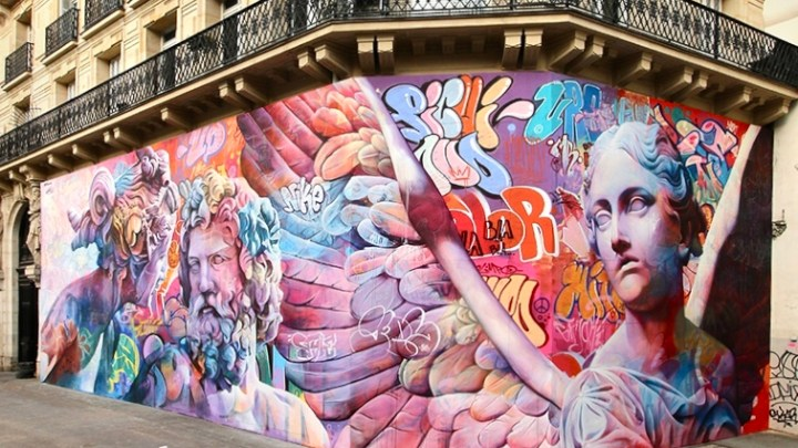 Interview with PichiAvo, the Spanish street artist duo that just enchanted Paris