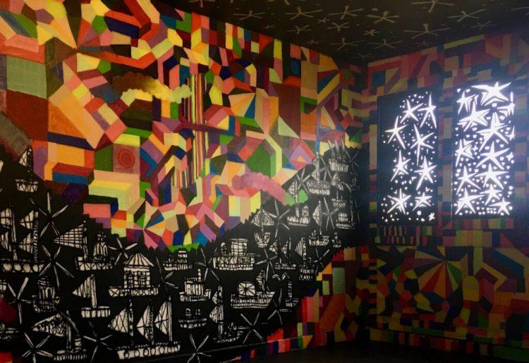 Oeuvre des artistes urbains Bault et Popay de Ayguavives à Abbeville