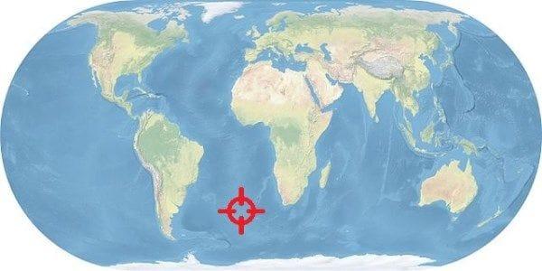 Resultado de imagen de tristan da cunha mapa