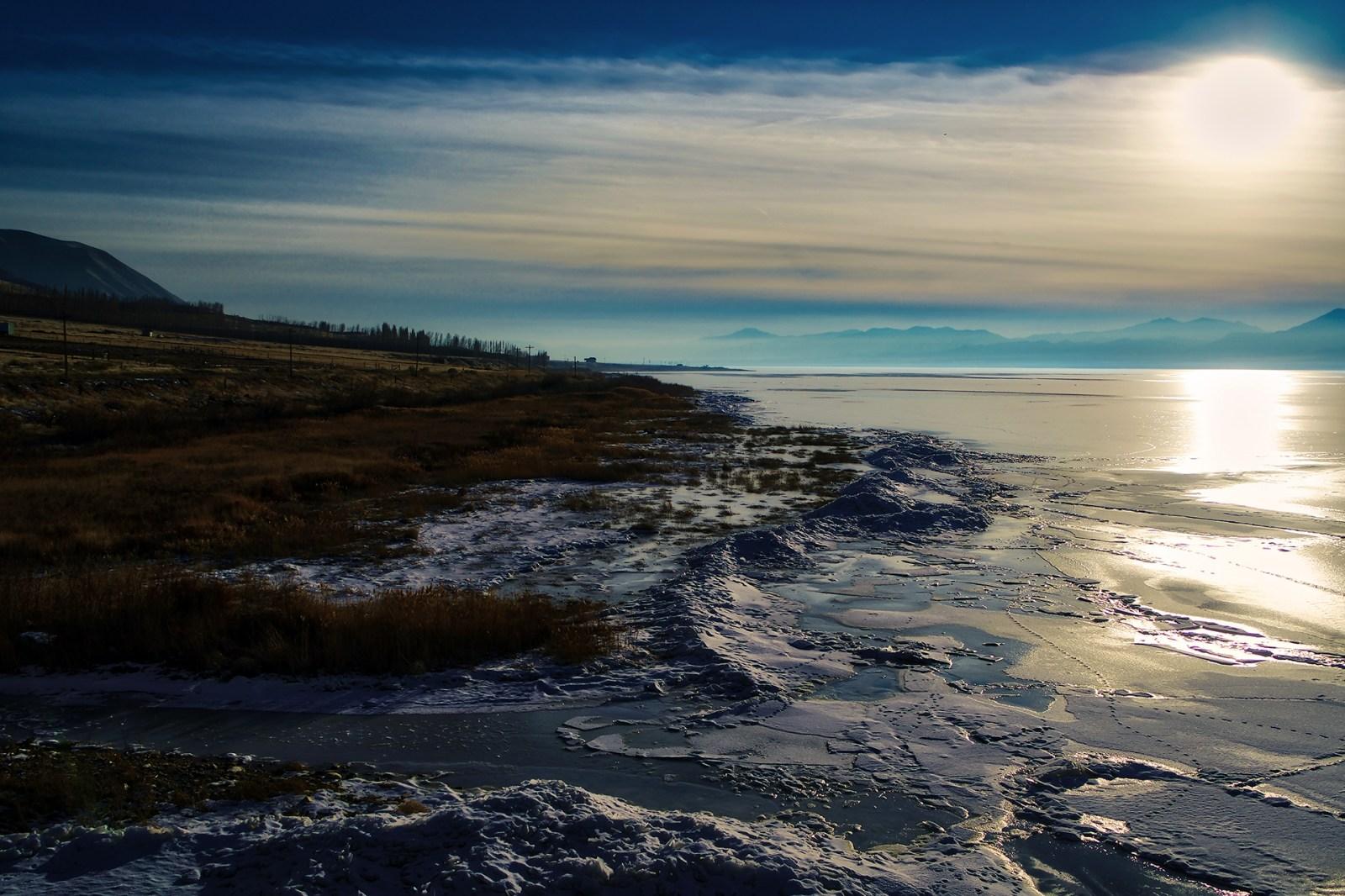 Utah Lake Winter