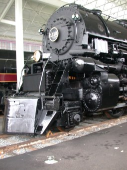locomotive - Roanoke railroad museum