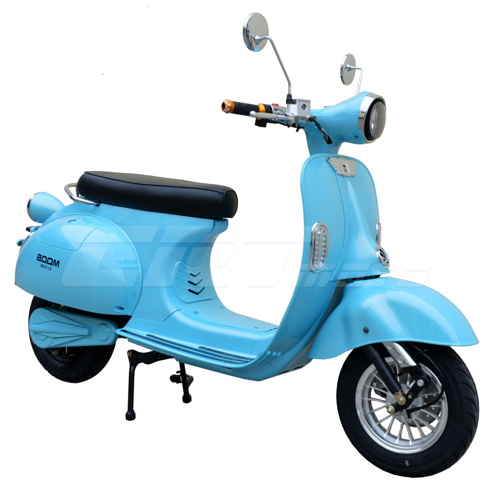 Mopeds, Electric Power-Assisted Bicycles and Electric ...