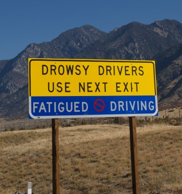 Driving Drowsy As Dangerous As Driving Drunk