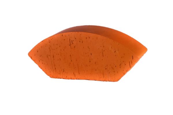 Фигурный клинкерный кирпич полнотелый Lode Janka F31 радиальный сколотый