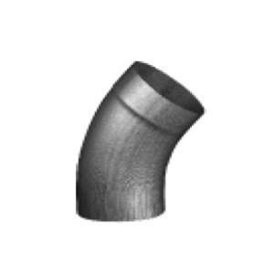 Колено 40° для круглой водосточной трубы цинк-титан RHEINZINK-prePATINA schiefergrau (тёмно-серый)