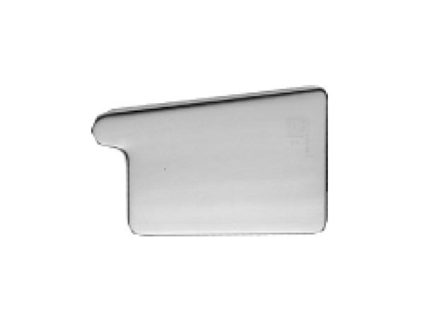 Заглушка для квадратного желоба правая титан-цинк RHEINZINK-prePATINA schiefergrau (тёмно-серый)