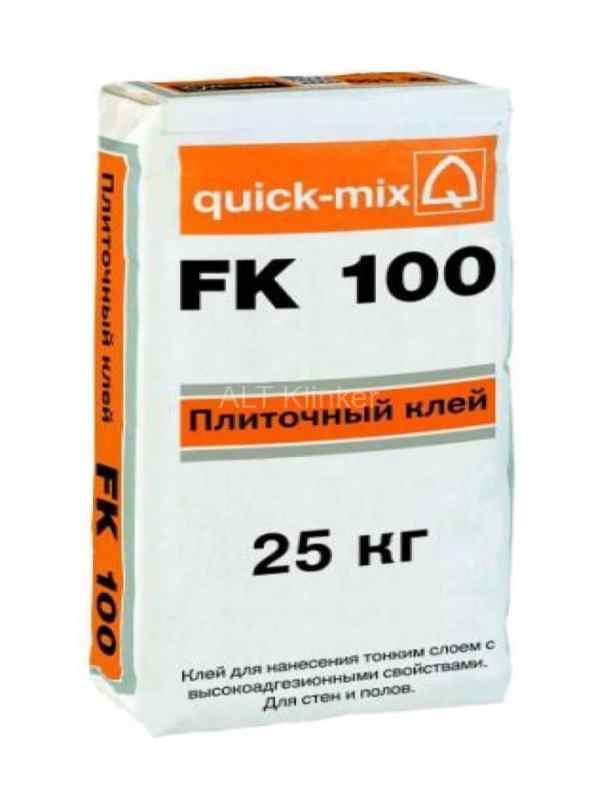 Плиточный клей Quick-mix FK 100