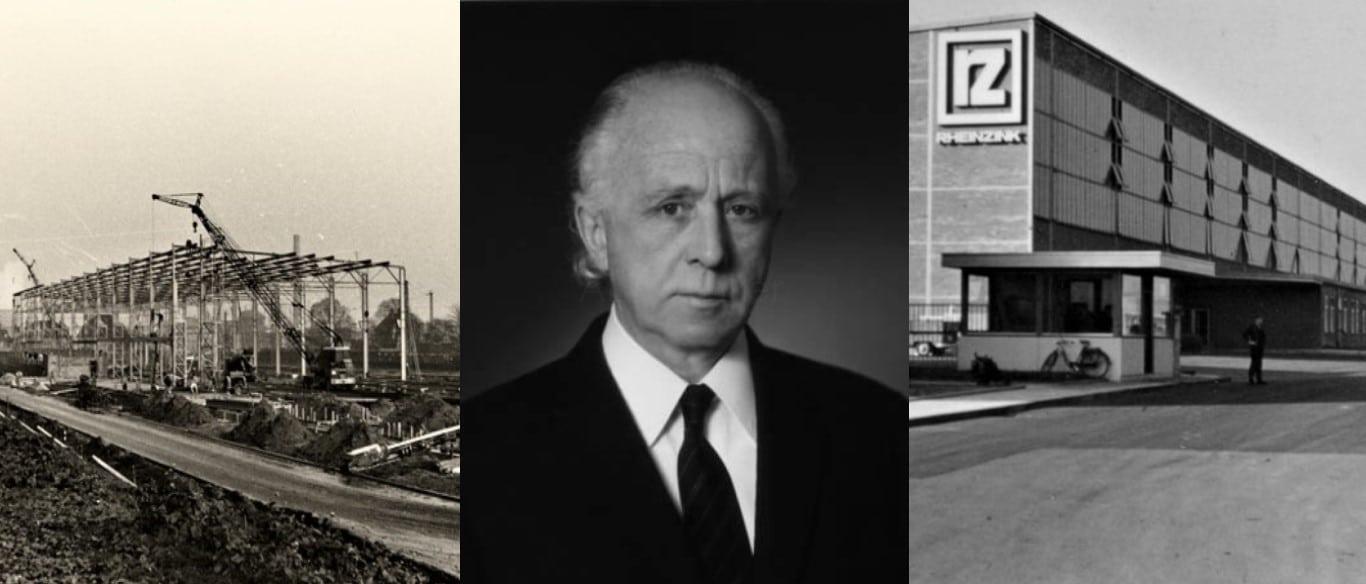RHEINZINK строительство завода и основатель Herbert Grillo
