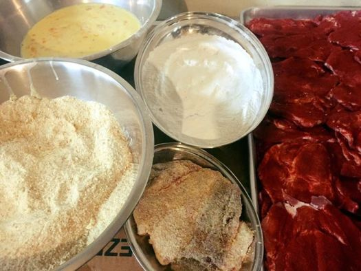 Schnitzel Ingredients