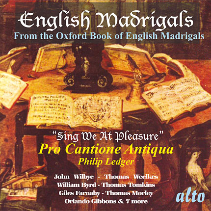 English Madrigals from the Oxford University Press Book of English Madrigals