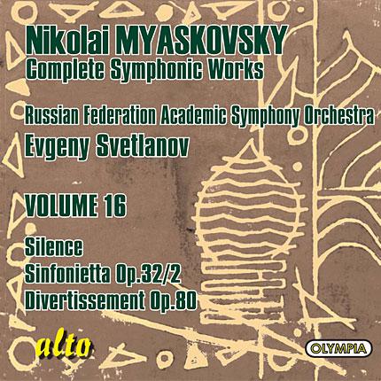 Myaskovsky: Complete Symphonic Works, Volume 16
