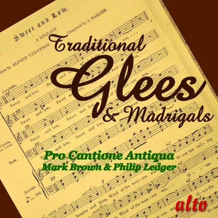 ALC1095 - Traditional Glees & Madrigals