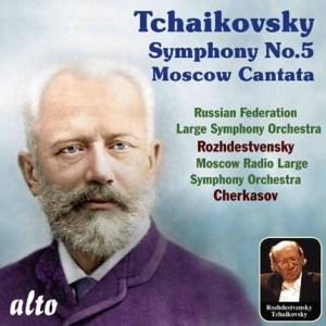 ALC 1105 - Tchaikovsky: Symphony No.5 / Moscow Cantata