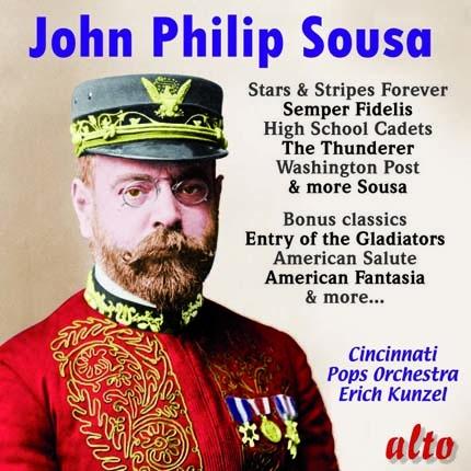 ALC1108 - Sousa: Marches, Polkas and Americana