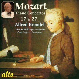 ALC1114 - Brendel Plays Mozart: Piano Concertos Nos. 17 & 27