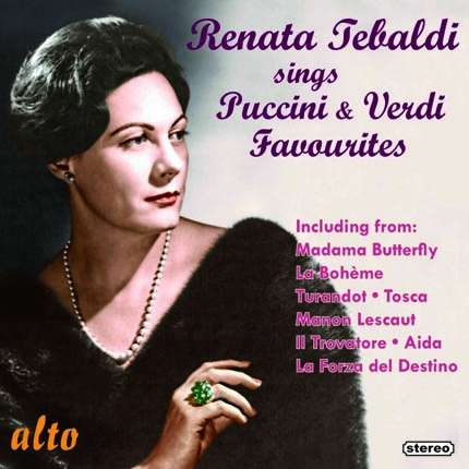 ALC 1133 - Renata Tebaldi Sings Puccini and Verdi Favourites