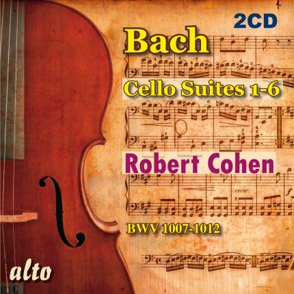 ALC2010 - Bach: The 6 Unaccompanied Cello Suites
