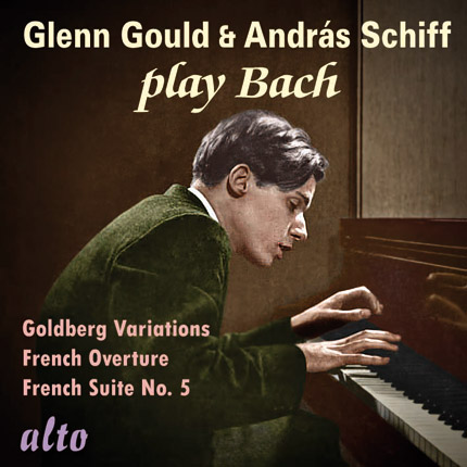 Glenn Gould and Andras Schiff play Bach