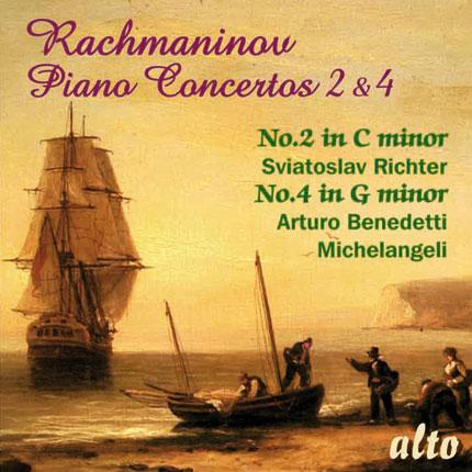 Rachmaninov : PIANO CONCERTOS No.2  & No.4