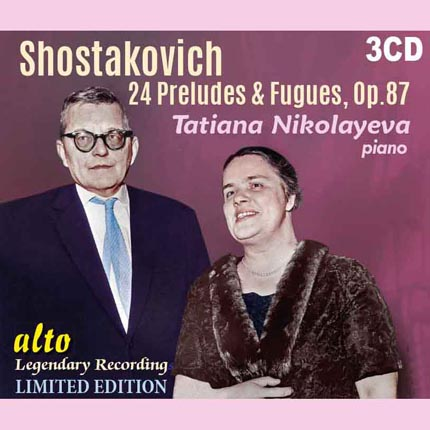 Dmitri Shostakovich (1906-75) 24 Preludes & Fugues, Op.87