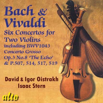 Bach & Vivaldi Double Violin Concertos