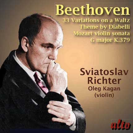 Beethoven: 33 Variations on a Waltz Theme by Diabelli / Mozart Violin Sonata K 379