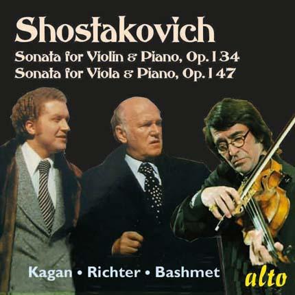 Shostakovich Sonatas Violin & Viola Opp.134 & 147