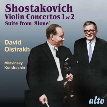 Shostakovich Violin Concertos 1, 2 Suite from 'Alone'