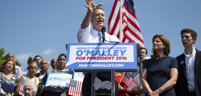 Martin OMalley Rally