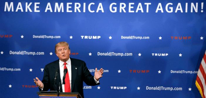 Donald Trump kickoff speech