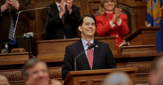Scott Walker Wisconsin Legislature