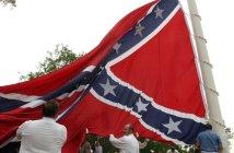 Supersized confederate flag