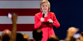 Hillary Clinton in Iowa