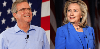 Jeb Bush Hillary Clinton